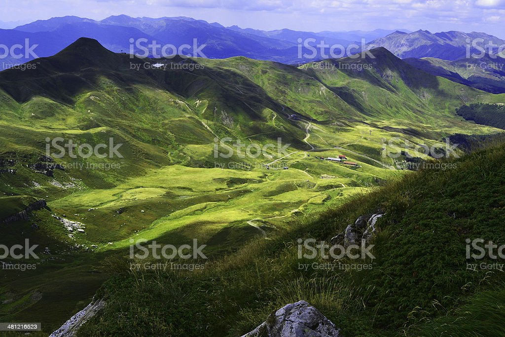 mountain in italy royalty-free stock photo
