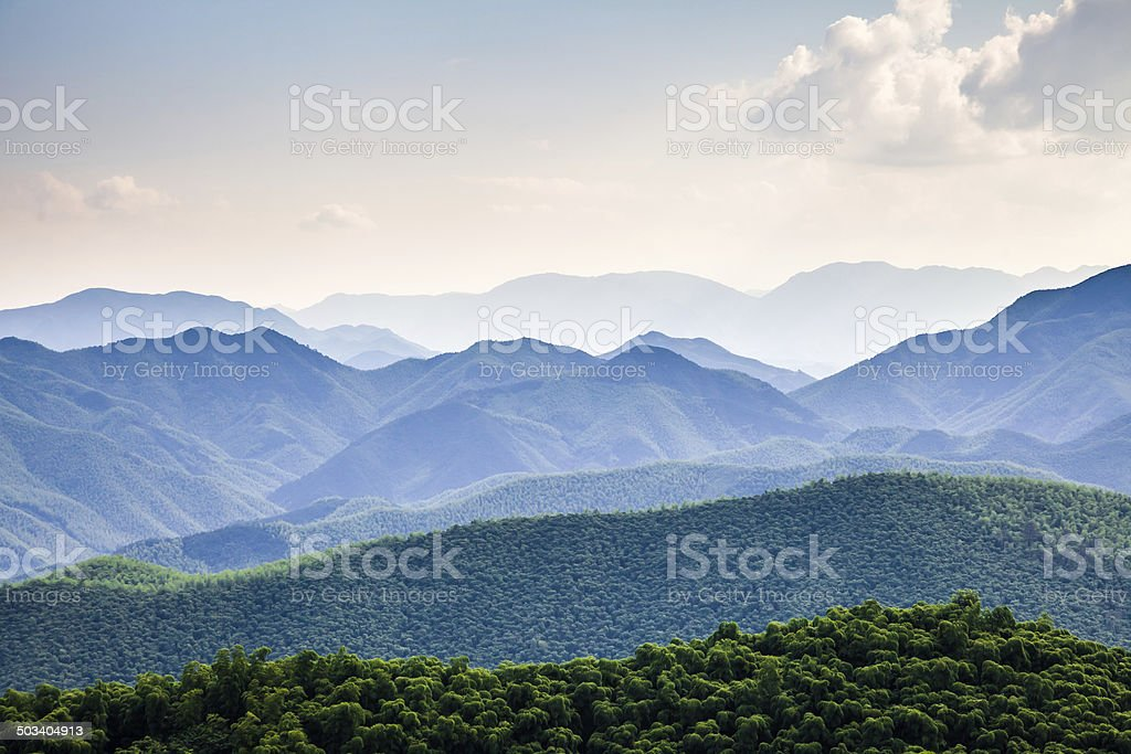 Mountain in south China stock photo