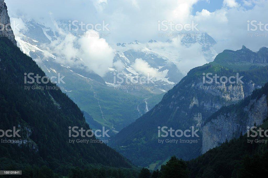 Mountain in Switzerland royalty-free stock photo