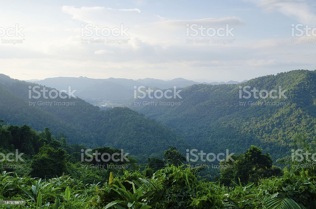 Mountain is Viewpoint stock photo