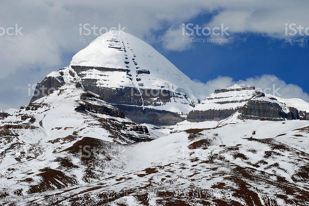 Mountain Kailash royalty-free stock photo