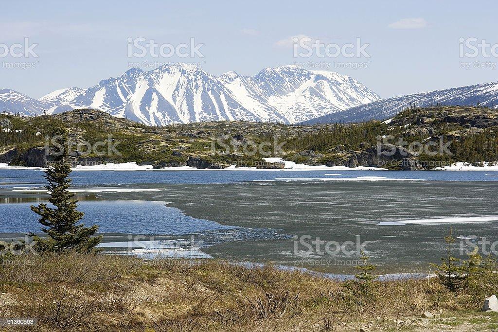 Mountain Lake 2 royalty-free stock photo