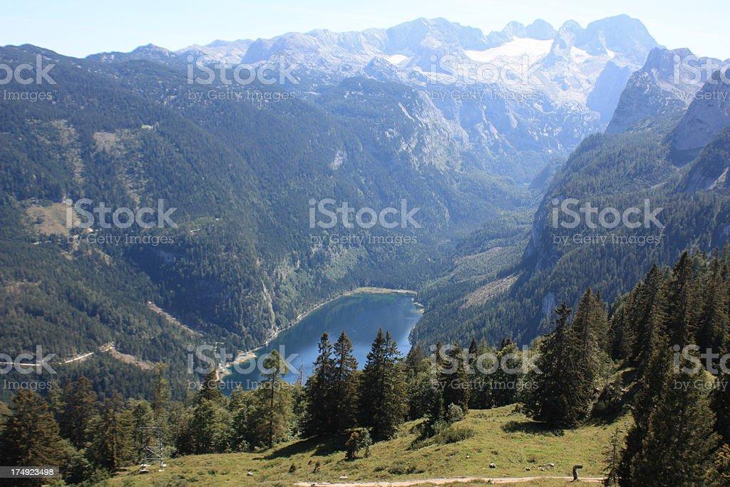 Mountain Lake, Austria royalty-free stock photo