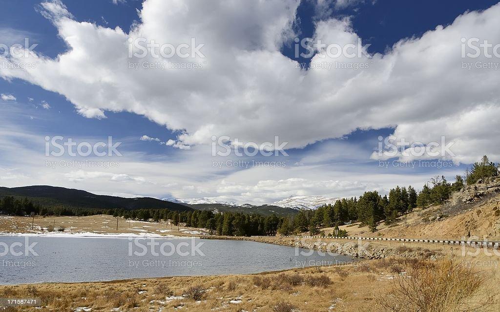 Mountain Lake, Colorado royalty-free stock photo