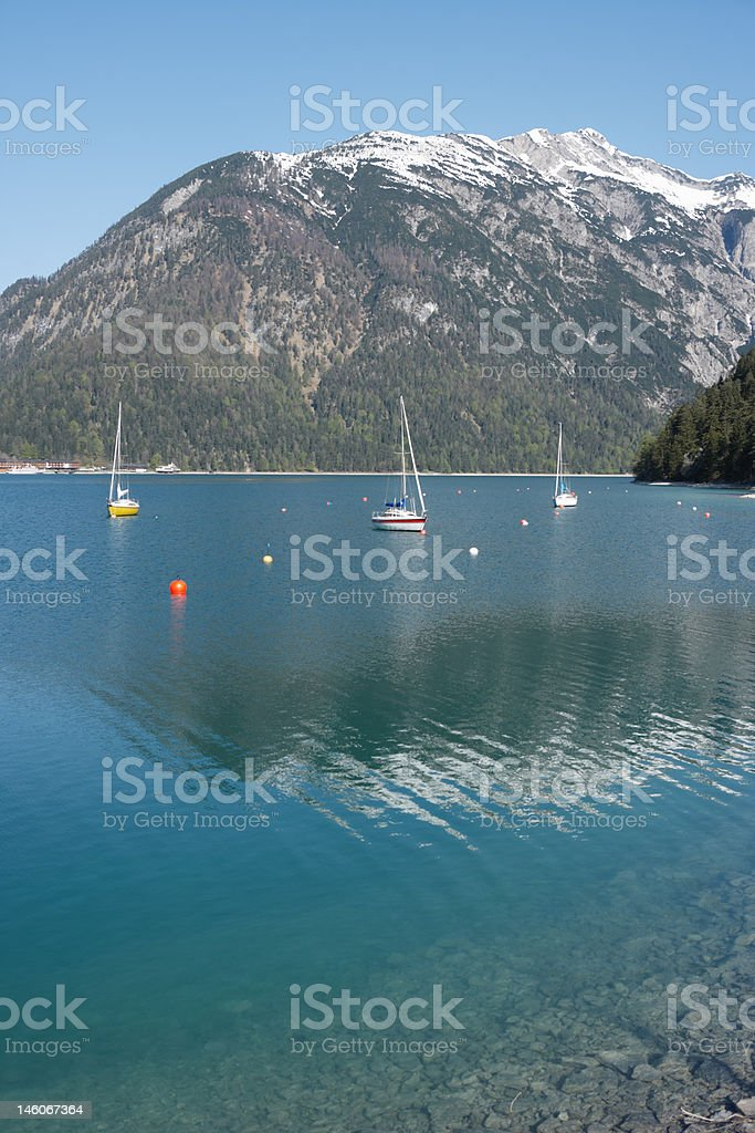mountain lake (XXL) royalty-free stock photo