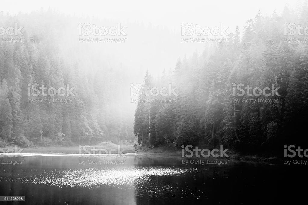 Lac de montagne photo libre de droits