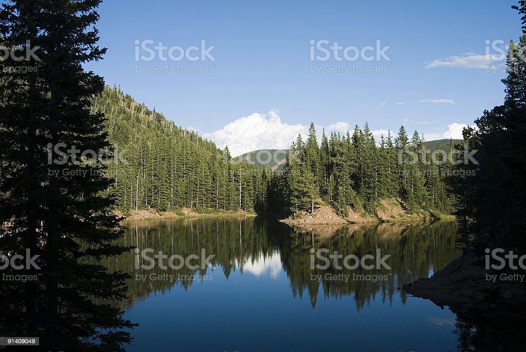 Mountain Lake Lizenzfreies stock-foto