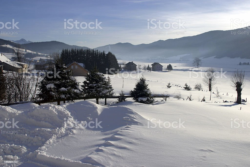 mountain landscape 2 royalty-free stock photo