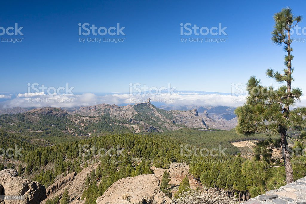 Mountain Landscape, Gran Canaria royalty-free stock photo