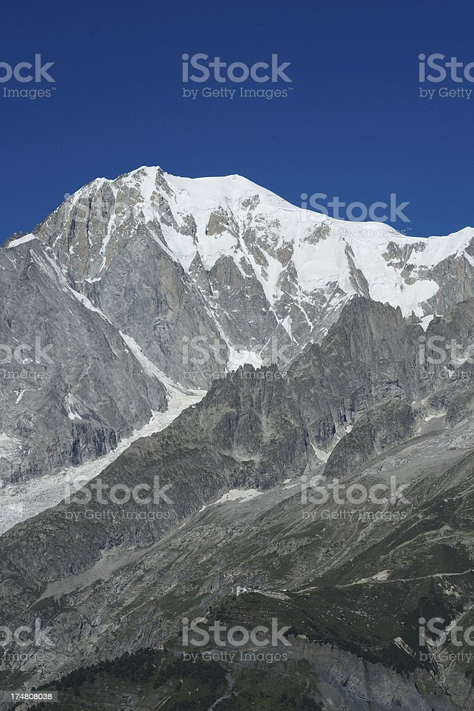 Mountain Landscape in the Alps royalty-free stock photo