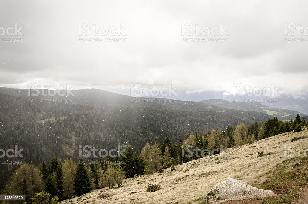 Mountain Landscape #1 royalty-free stock photo