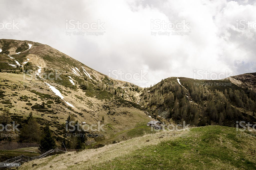 Mountain Landscape #3 royalty-free stock photo