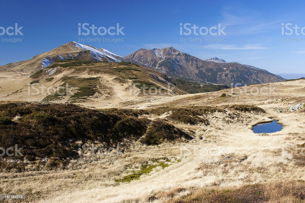 Mountain Landscape royalty-free stock photo