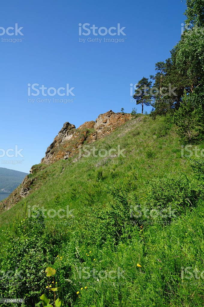Mountain landscape. stock photo