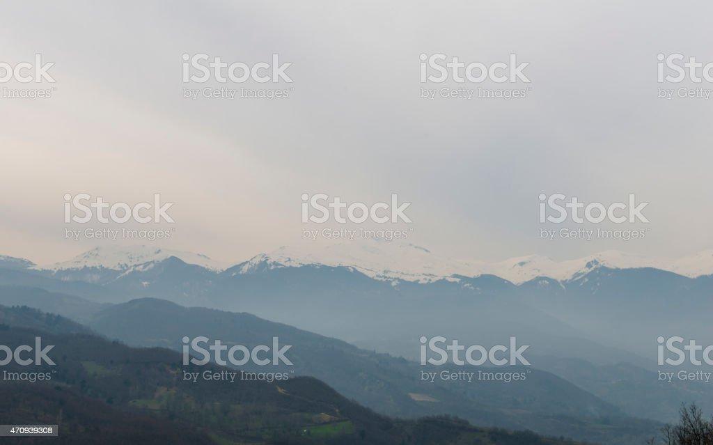 Mountain Landscape - Stock Image stock photo