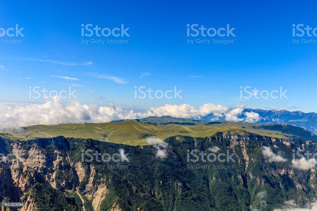 Mountain Landscape, Verona, Italy stock photo