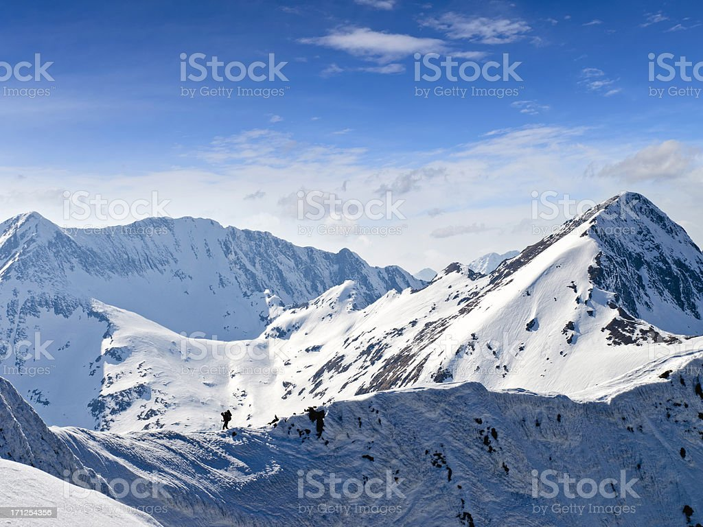 mountain landscpe royalty-free stock photo