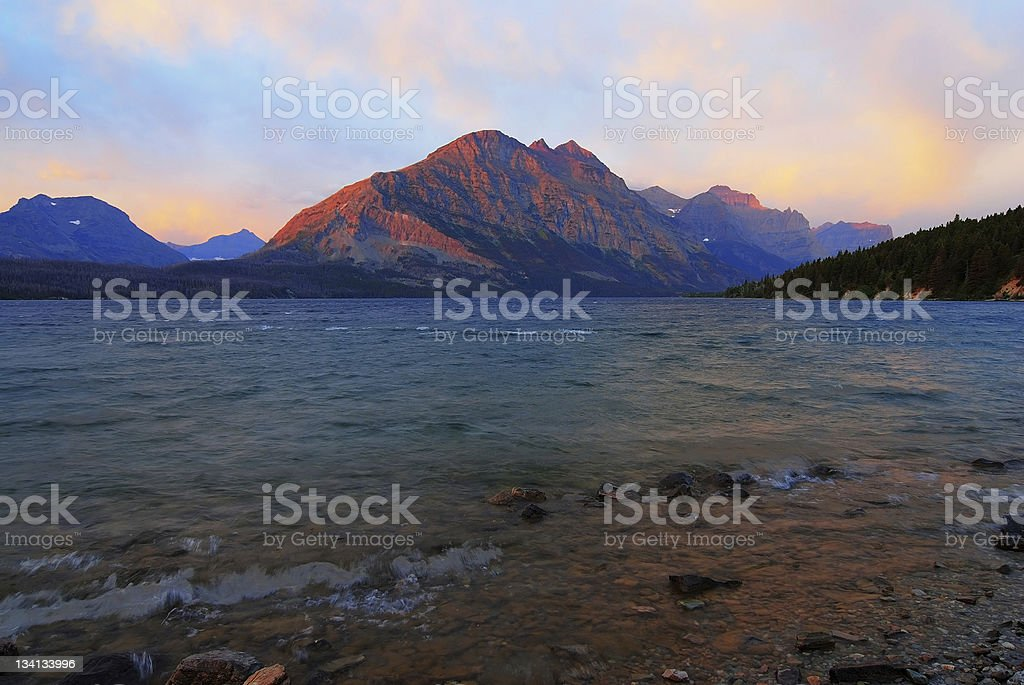 Mountain Light Morning royalty-free stock photo