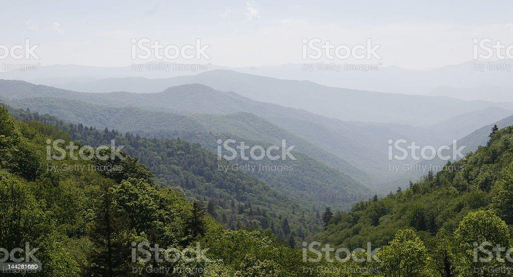 Mountain Line stock photo