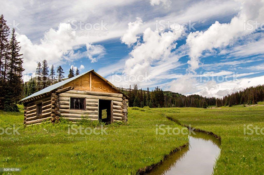 Mountain Living stock photo