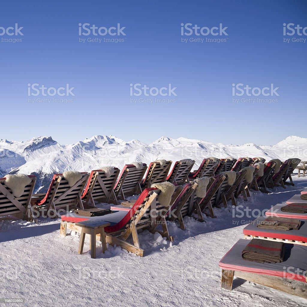 Mountain Lounge royalty-free stock photo