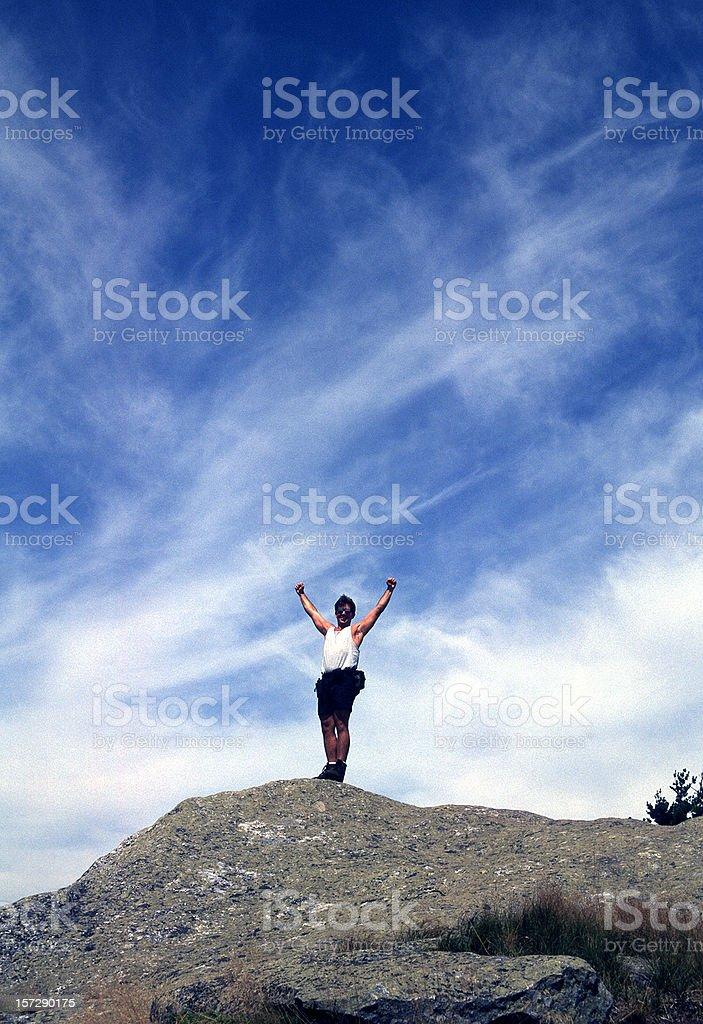 Mountain man royalty-free stock photo
