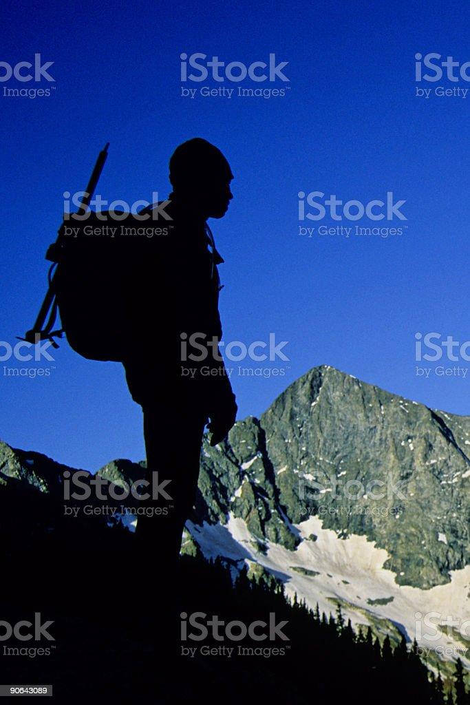 mountain  man! royalty-free stock photo