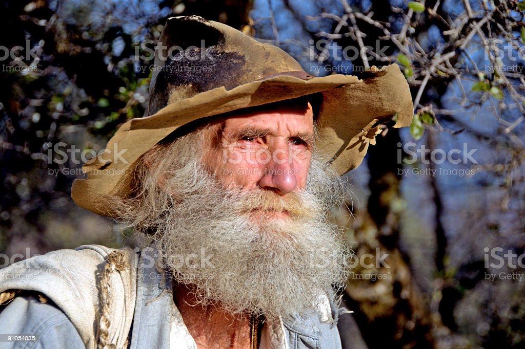 Mountain Man Rodney royalty-free stock photo