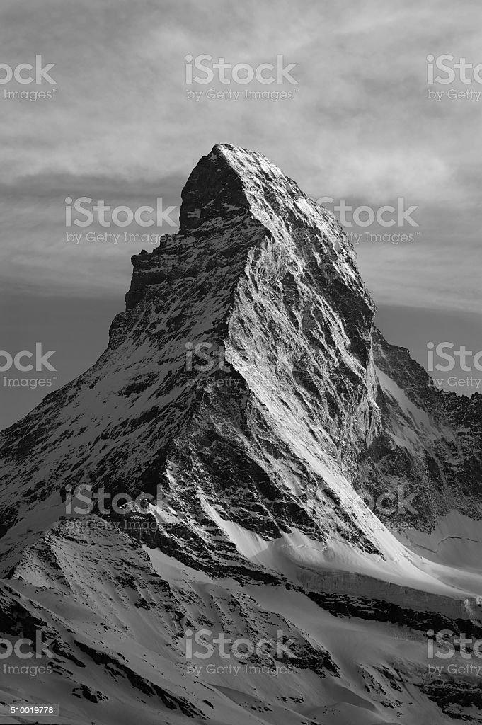 Mountain Matterhorn, Switzerland stock photo