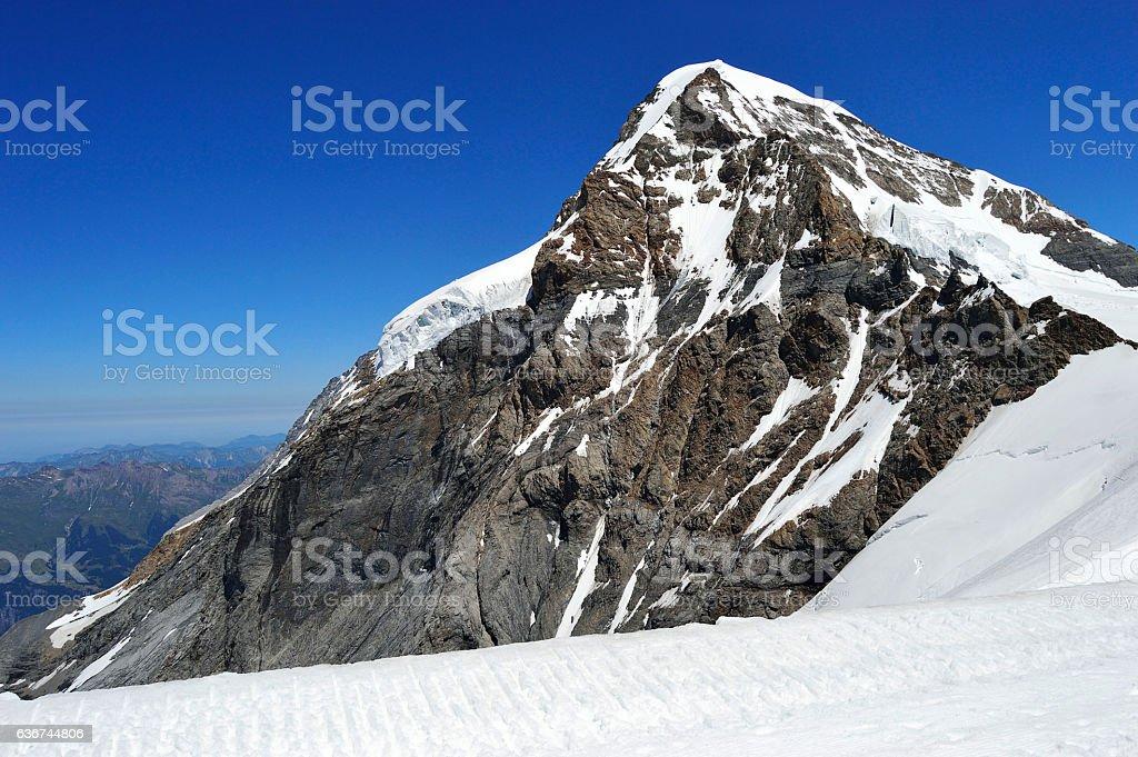 Mountain monch switzerland stock photo