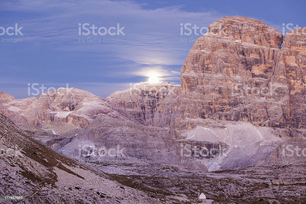Mountain moonrice royalty-free stock photo