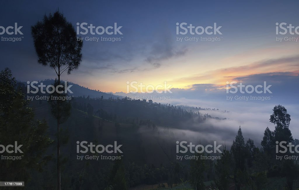 Mountain Mystery stock photo