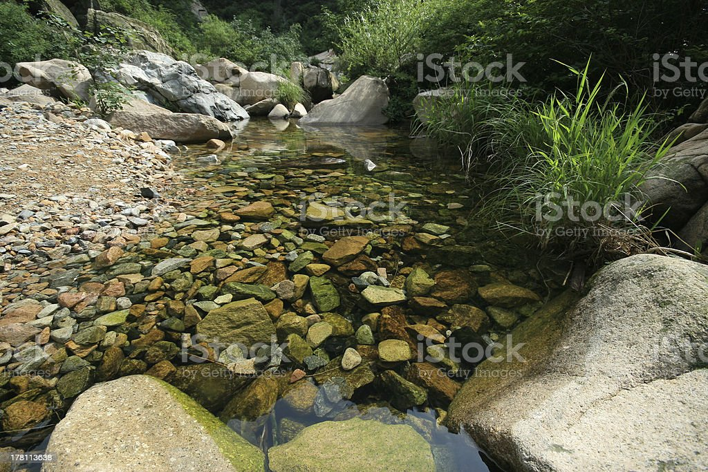mountain natural landscape in china royalty-free stock photo