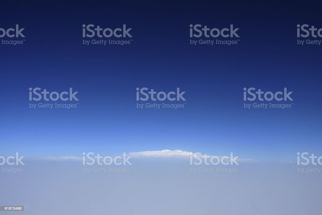 Mountain of Clouds royalty-free stock photo