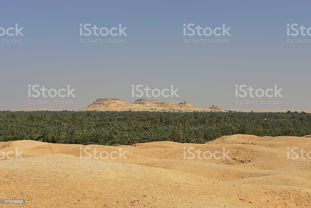 mountain of the dead stock photo