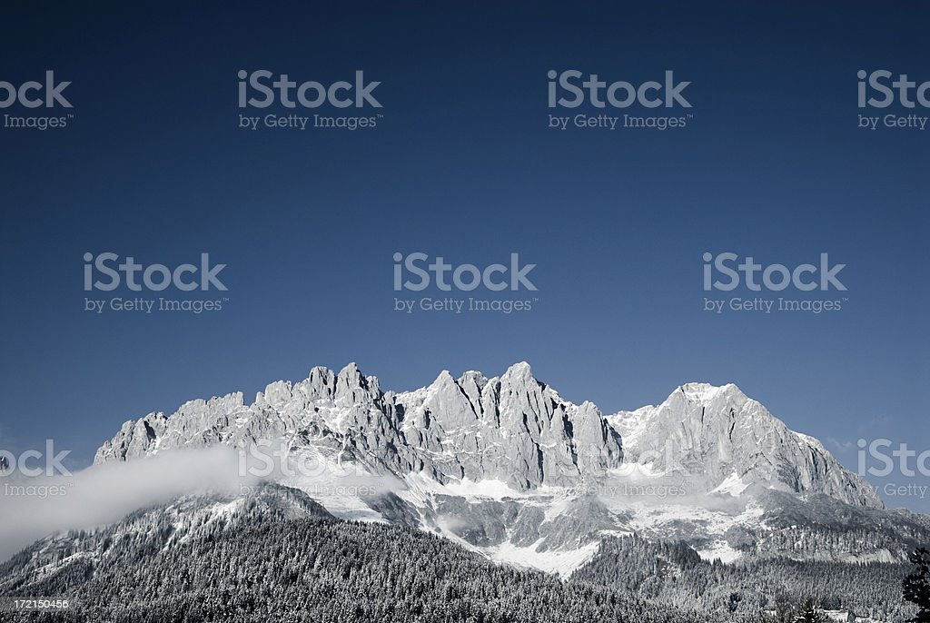 Mountain Panorama IV stock photo