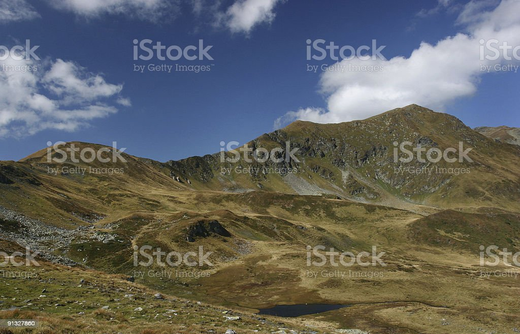 Mountain Panorama stock photo