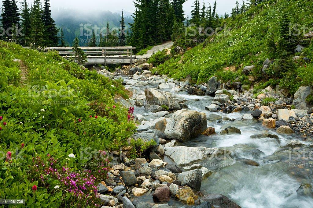 Mountain paradise royalty-free stock photo