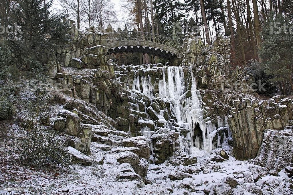 Mountain park Wilhelmsh?he in Kassel stock photo