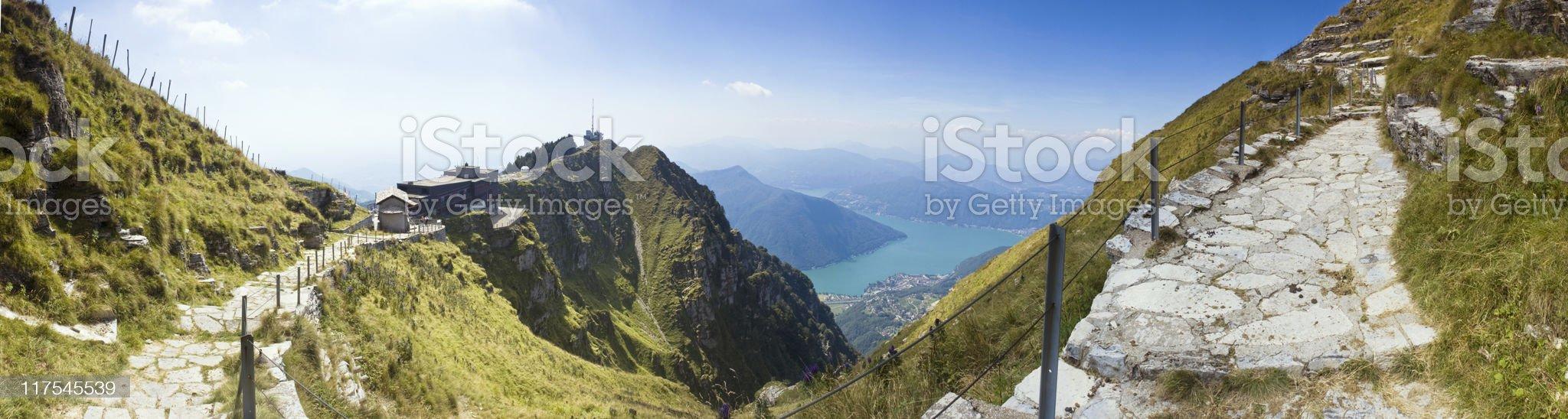 Mountain pass. royalty-free stock photo
