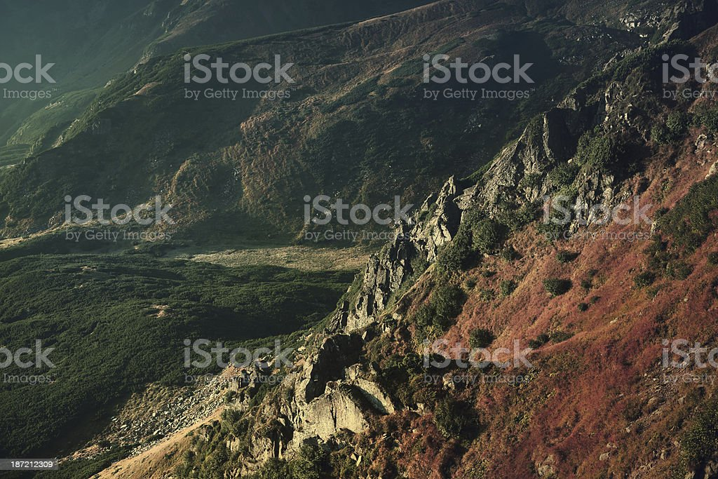 Mountain Pass royalty-free stock photo