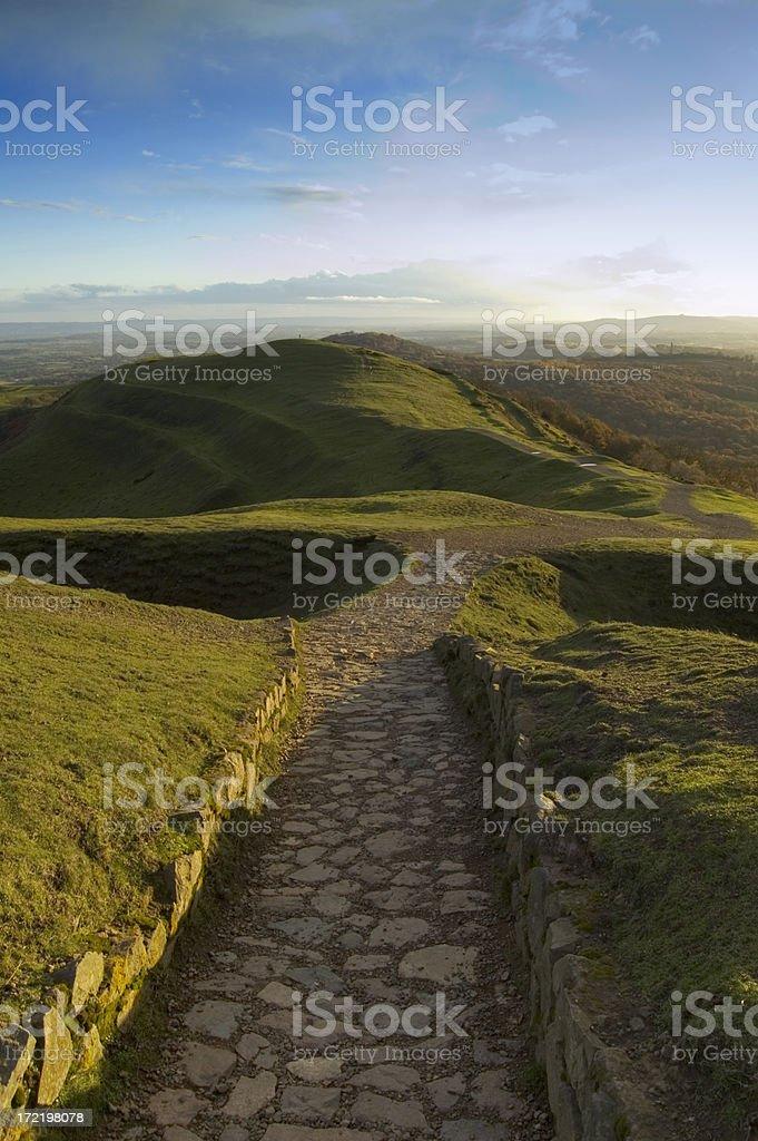 Mountain Pathway royalty-free stock photo