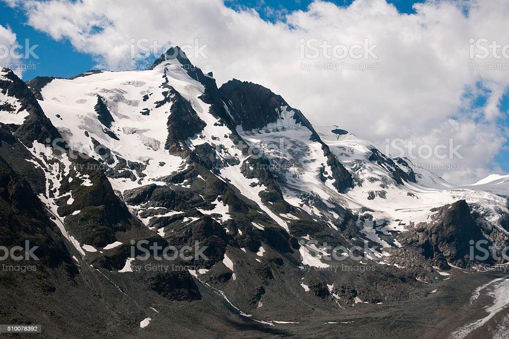 Mountain peak in Austria - Grossglockner stock photo
