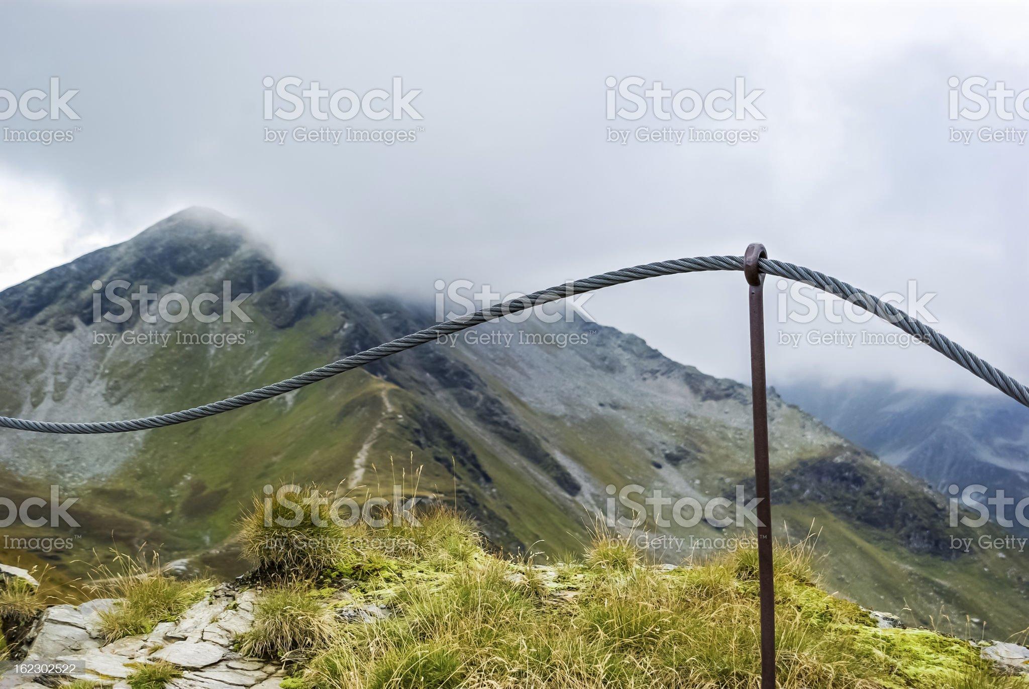 Mountain peak royalty-free stock photo
