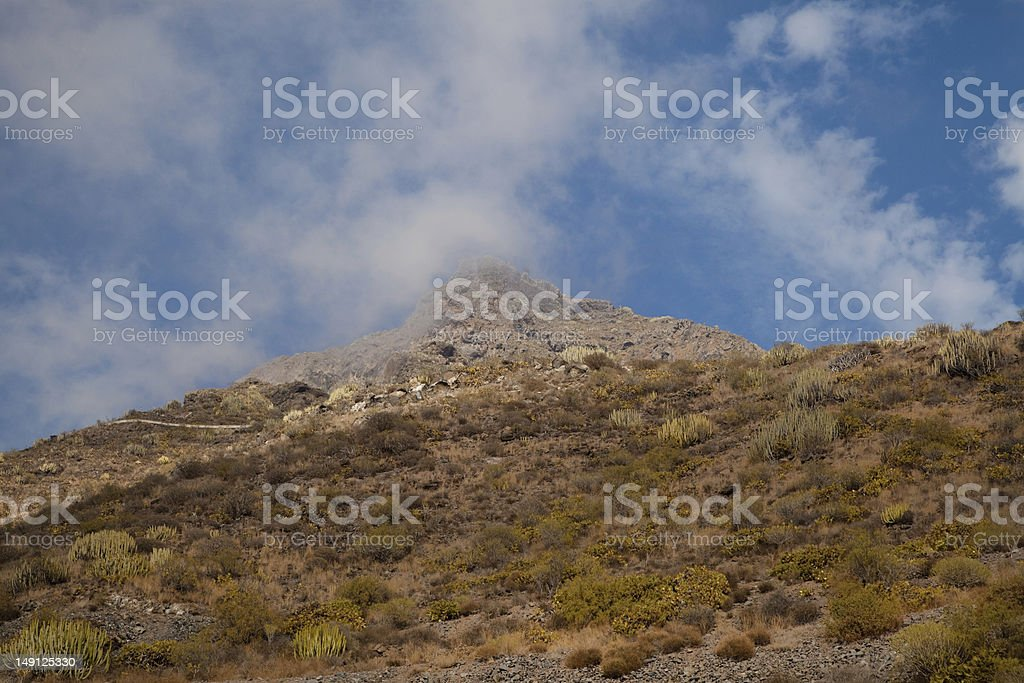 Mountain Peak, Tenerife stock photo