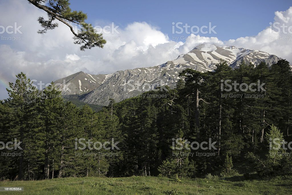 Mountain royalty-free stock photo