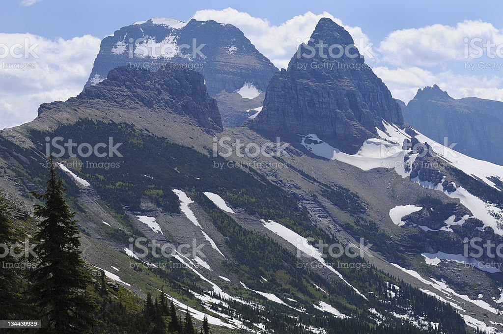 Mountain Pinnacles Scenic Landscape royalty-free stock photo