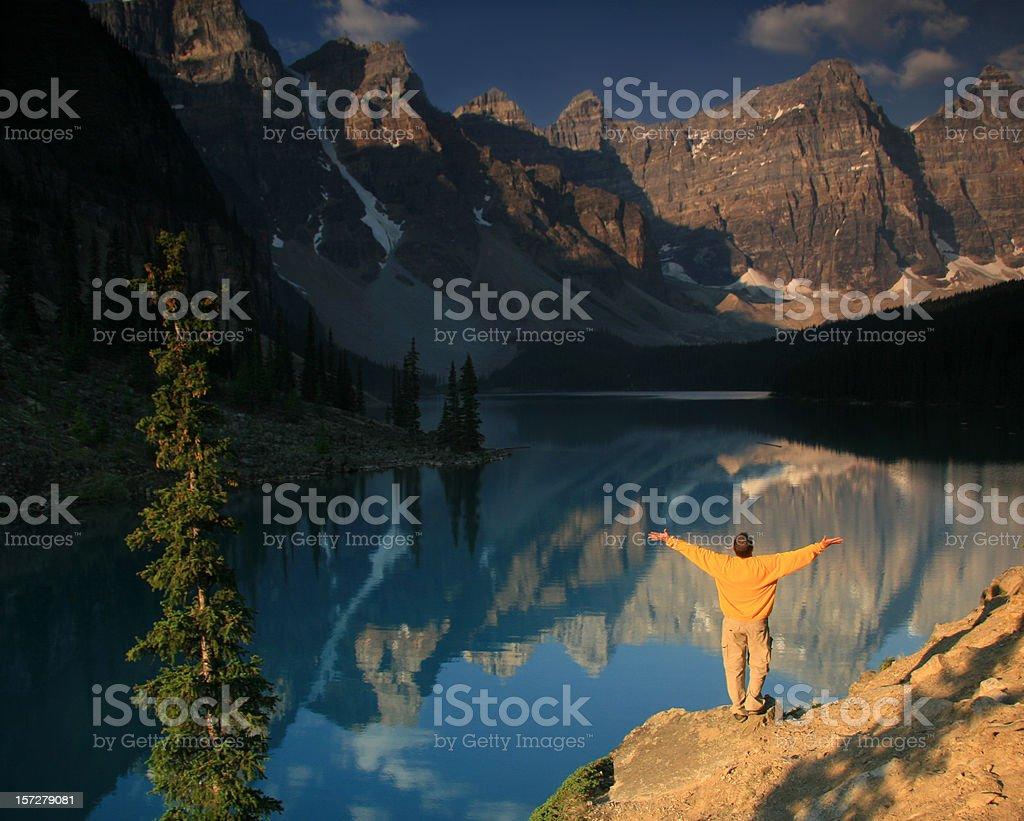 Mountain Praise royalty-free stock photo
