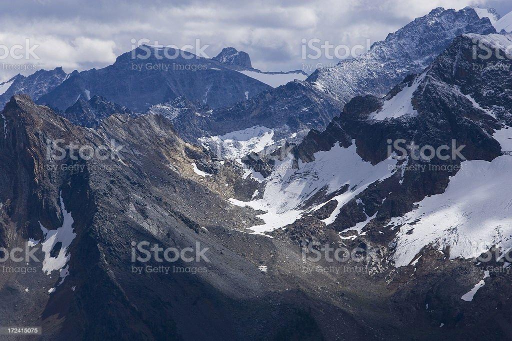 山の範囲 ロイヤリティフリーストックフォト