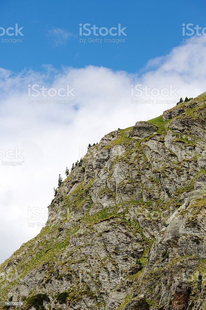 Mountain range royalty-free stock photo